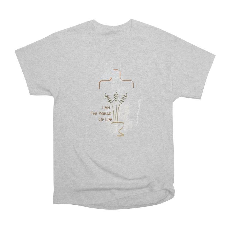 Jesus the bread of life Women's Heavyweight Unisex T-Shirt by ReiLuzardo's Artist Shop
