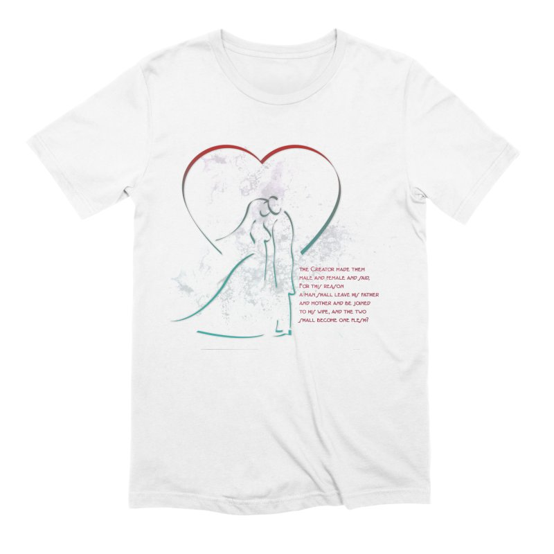 Man and woman Men's Extra Soft T-Shirt by ReiLuzardo's Artist Shop