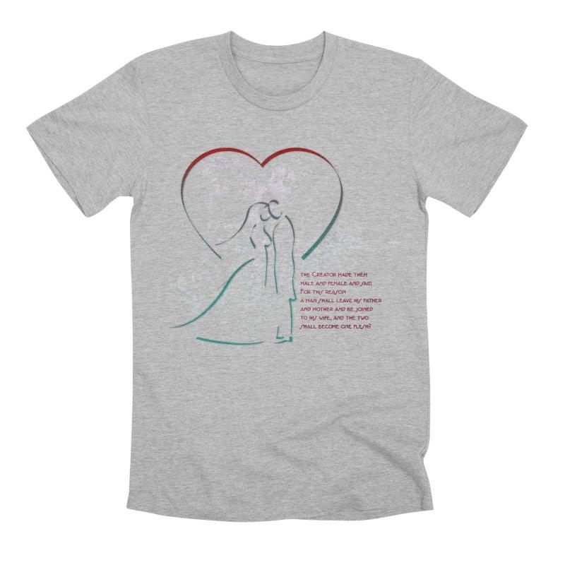 Man and woman Men's Premium T-Shirt by ReiLuzardo's Artist Shop