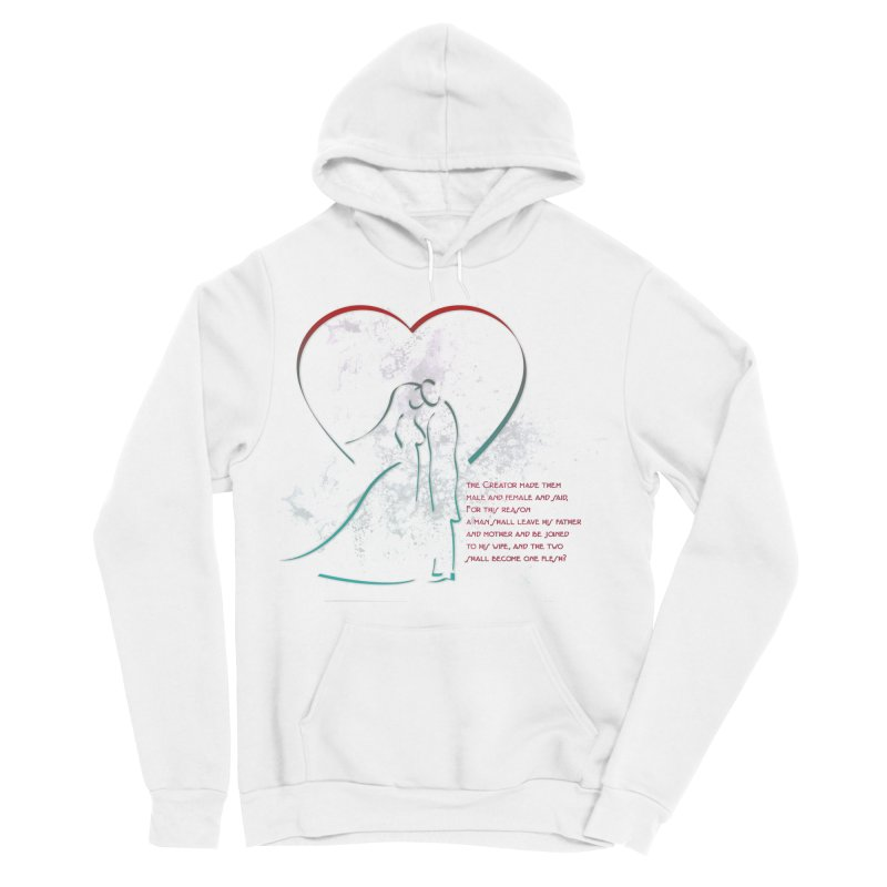 Man and woman Women's Sponge Fleece Pullover Hoody by ReiLuzardo's Artist Shop