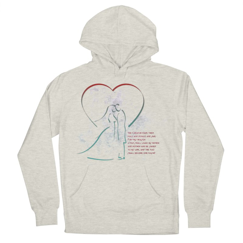 Man and woman Men's French Terry Pullover Hoody by ReiLuzardo's Artist Shop