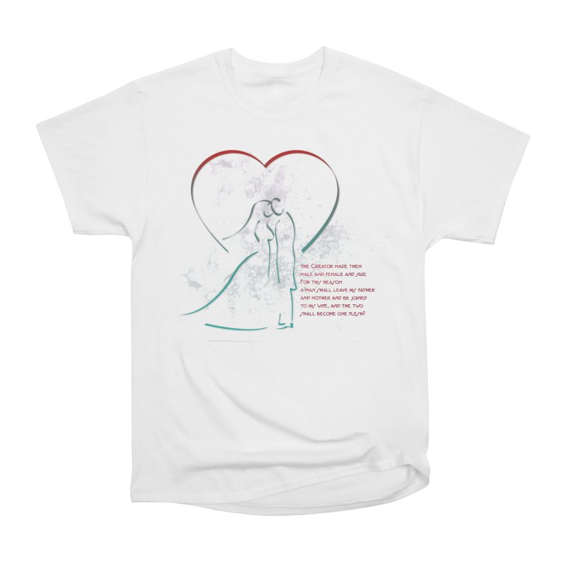 Man and woman Men's Heavyweight T-Shirt by ReiLuzardo's Artist Shop