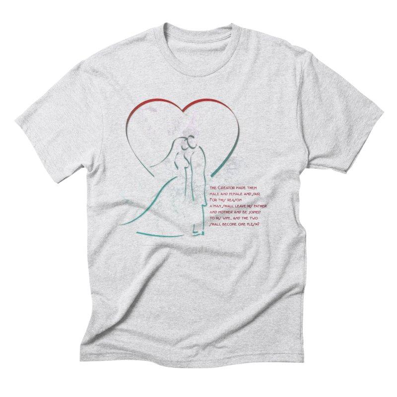 Man and woman Men's Triblend T-Shirt by ReiLuzardo's Artist Shop
