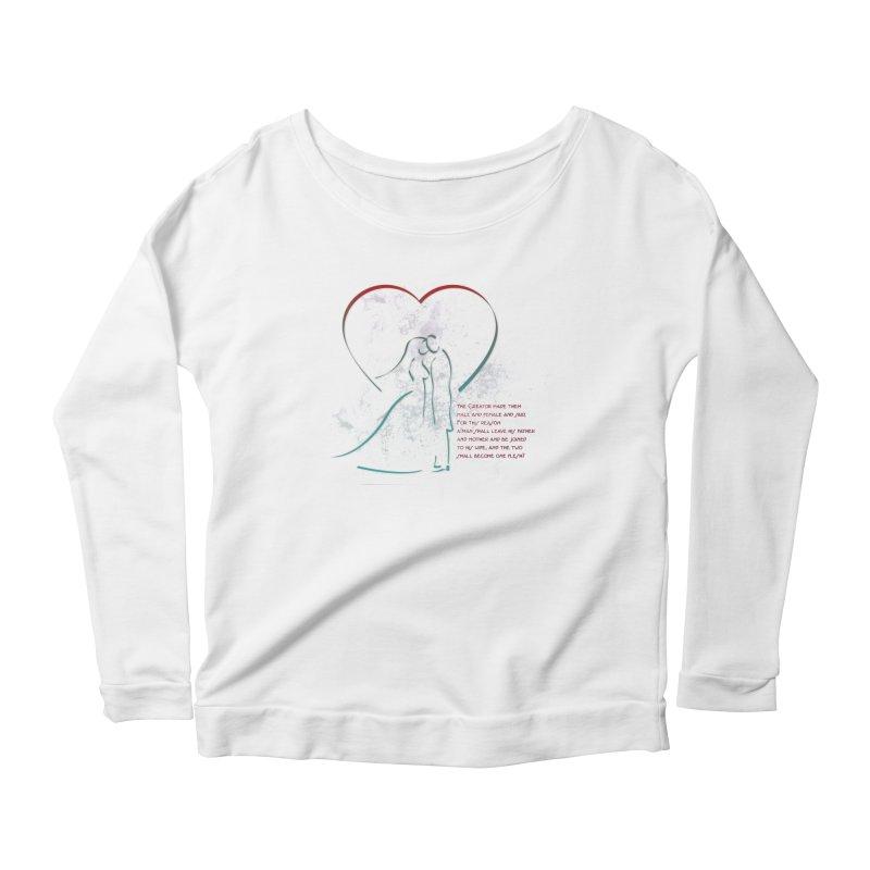 Man and woman Women's Scoop Neck Longsleeve T-Shirt by ReiLuzardo's Artist Shop