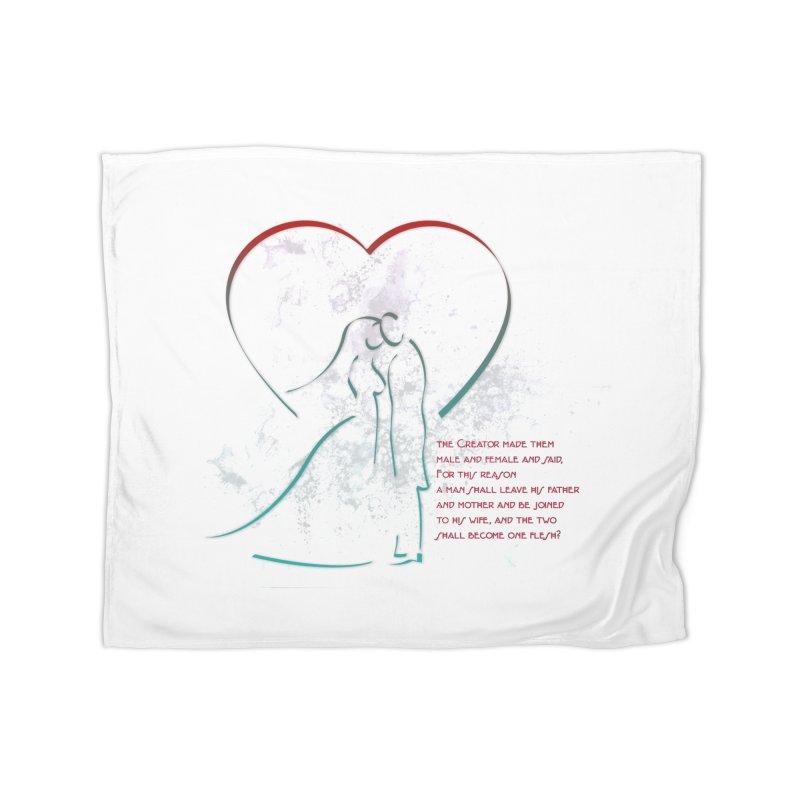Man and woman Home Fleece Blanket Blanket by ReiLuzardo's Artist Shop