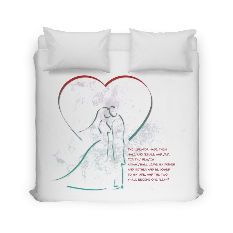 Man and woman Home Duvet by ReiLuzardo's Artist Shop