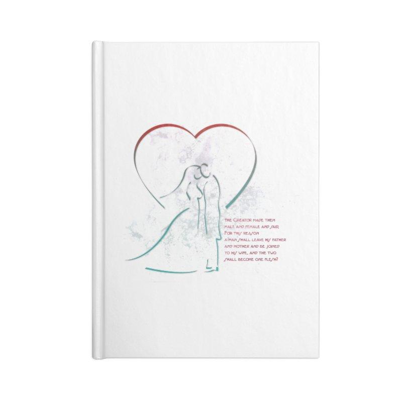 Man and woman Accessories Blank Journal Notebook by ReiLuzardo's Artist Shop