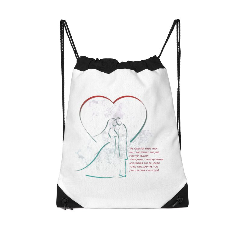 Man and woman Accessories Drawstring Bag Bag by ReiLuzardo's Artist Shop