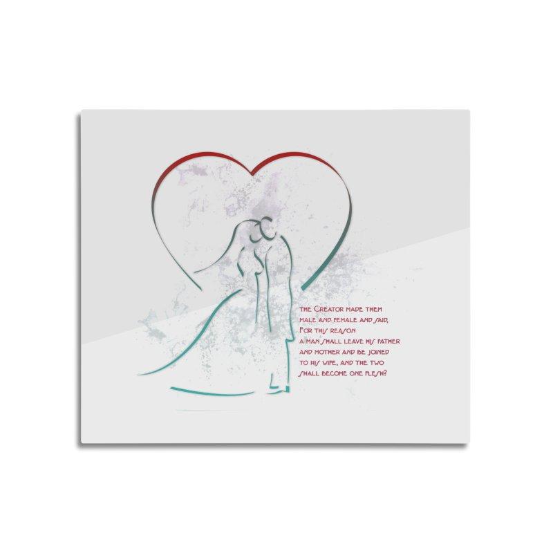 Man and woman Home Mounted Acrylic Print by ReiLuzardo's Artist Shop