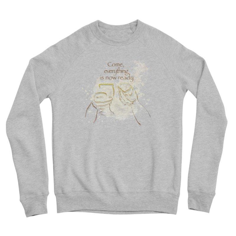 The supper of the Lord Men's Sponge Fleece Sweatshirt by ReiLuzardo's Artist Shop