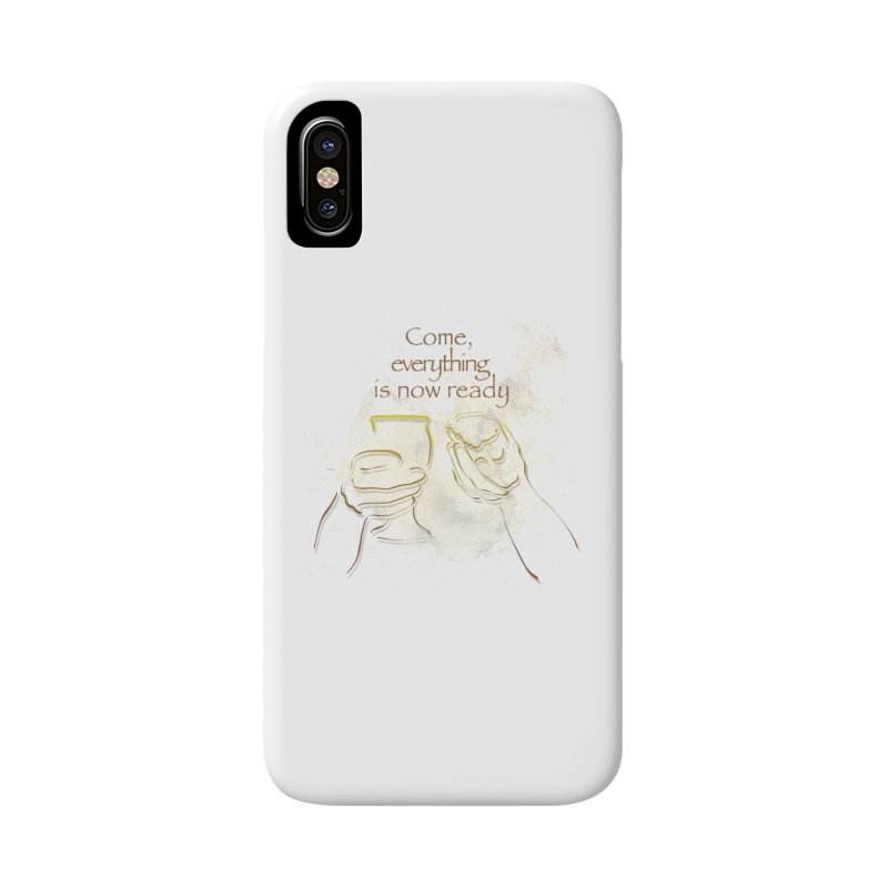 The supper of the Lord Accessories Phone Case by ReiLuzardo's Artist Shop