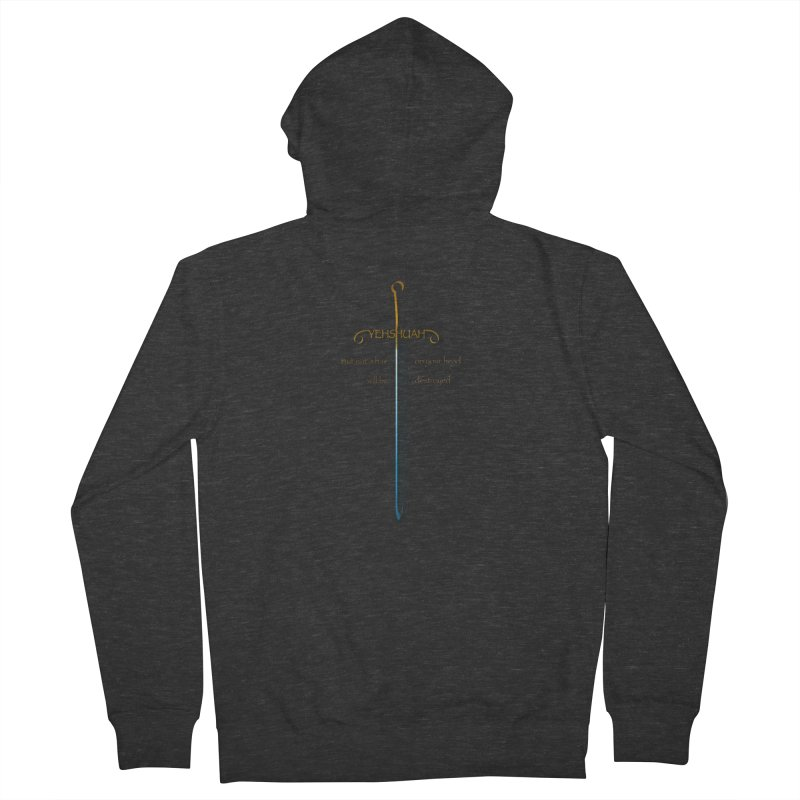 You will be hated by all version 2 Men's French Terry Zip-Up Hoody by ReiLuzardo's Artist Shop