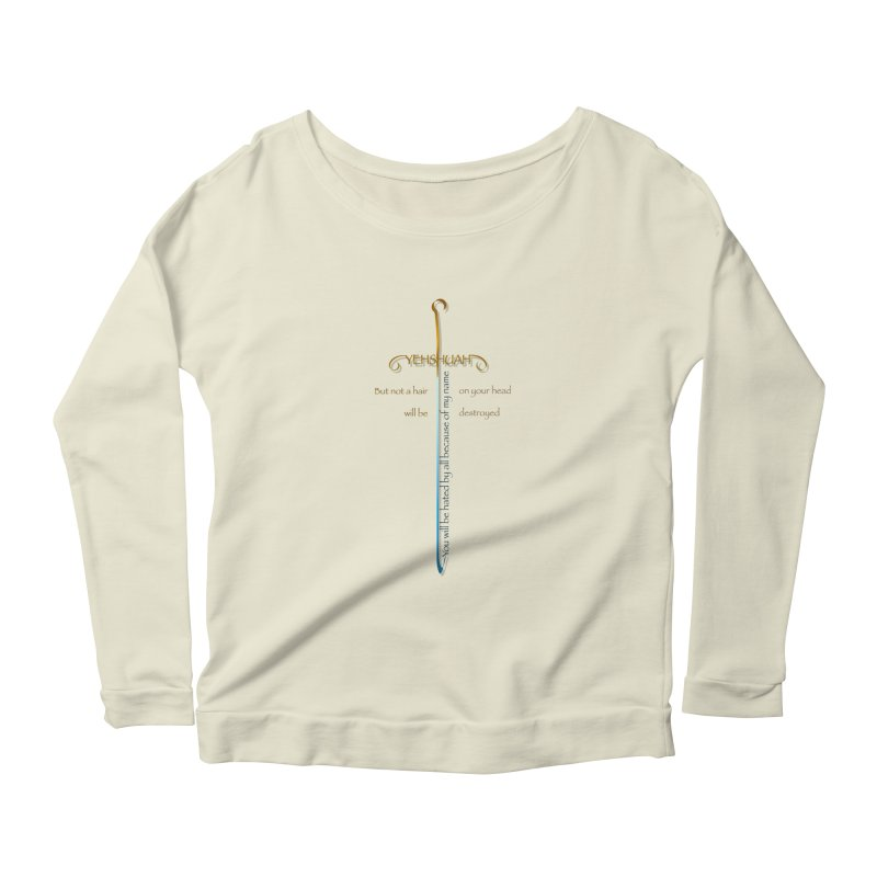 You will be hated by all version 2 Women's Scoop Neck Longsleeve T-Shirt by ReiLuzardo's Artist Shop
