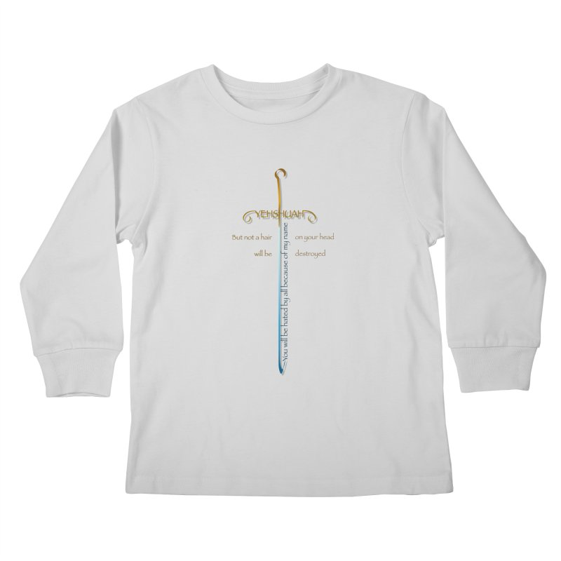 You will be hated by all version 2 Kids Longsleeve T-Shirt by ReiLuzardo's Artist Shop
