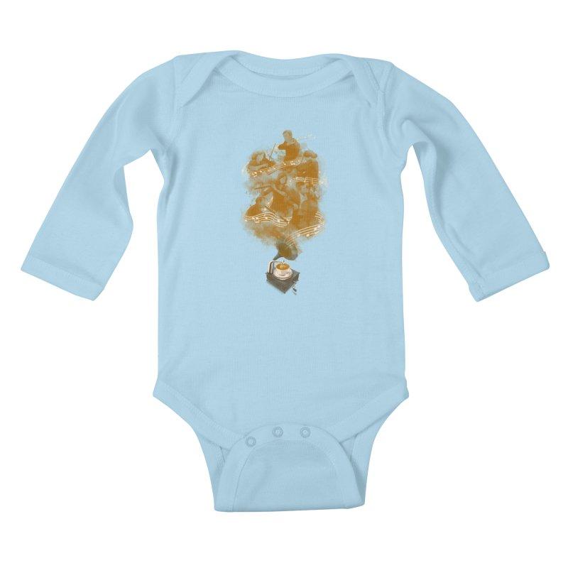 the bitter sweet symphony Kids Baby Longsleeve Bodysuit by Rejagalu's Artist Shop