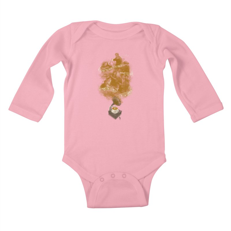 the bitter sweet symphony Kids Baby Longsleeve Bodysuit by Rejagalu's Artist Shop