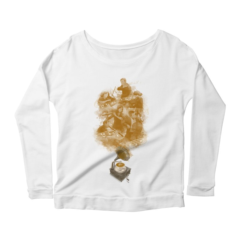 the bitter sweet symphony Women's Longsleeve Scoopneck  by Rejagalu's Artist Shop