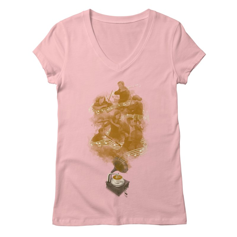 the bitter sweet symphony Women's V-Neck by Rejagalu's Artist Shop