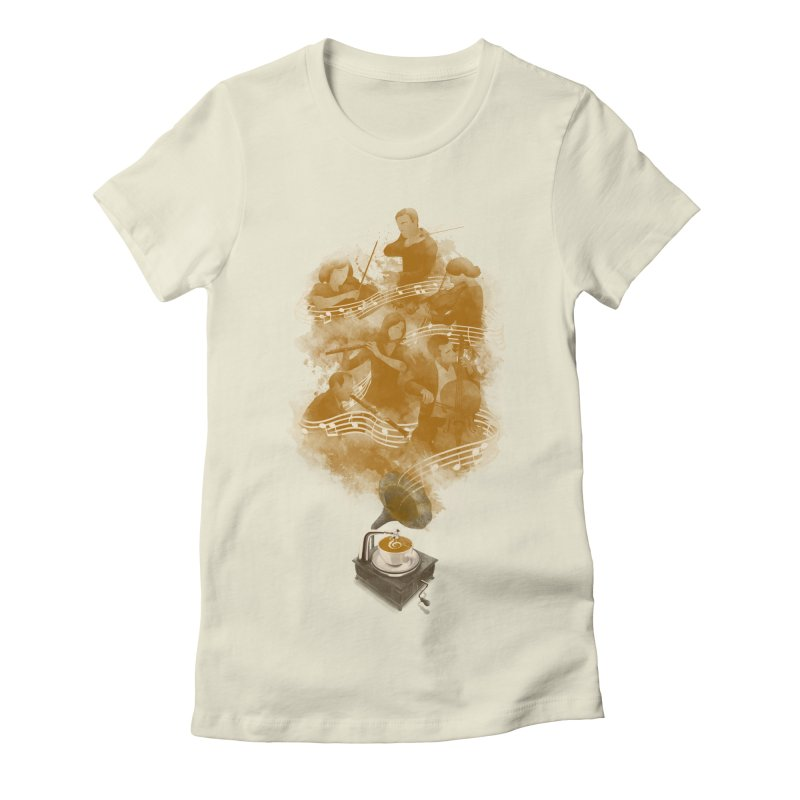 the bitter sweet symphony Women's Fitted T-Shirt by Rejagalu's Artist Shop