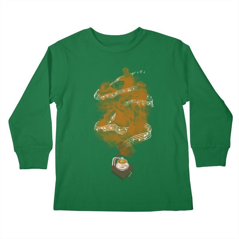 the bitter sweet symphony Kids Longsleeve T-Shirt by Rejagalu's Artist Shop