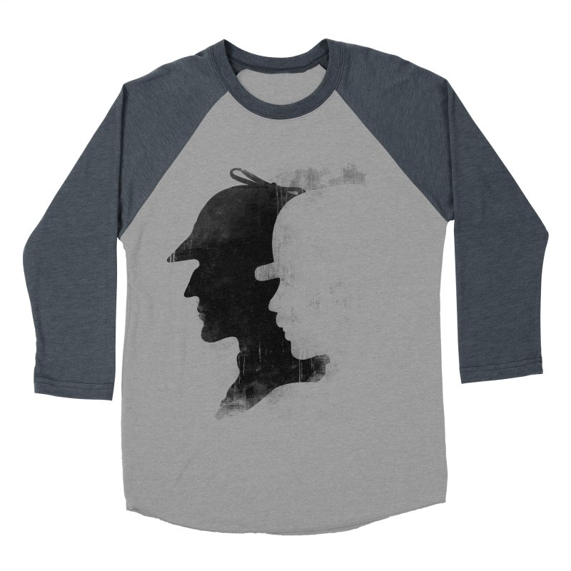 Sherlock's hommies Men's Baseball Triblend T-Shirt by Rejagalu's Artist Shop