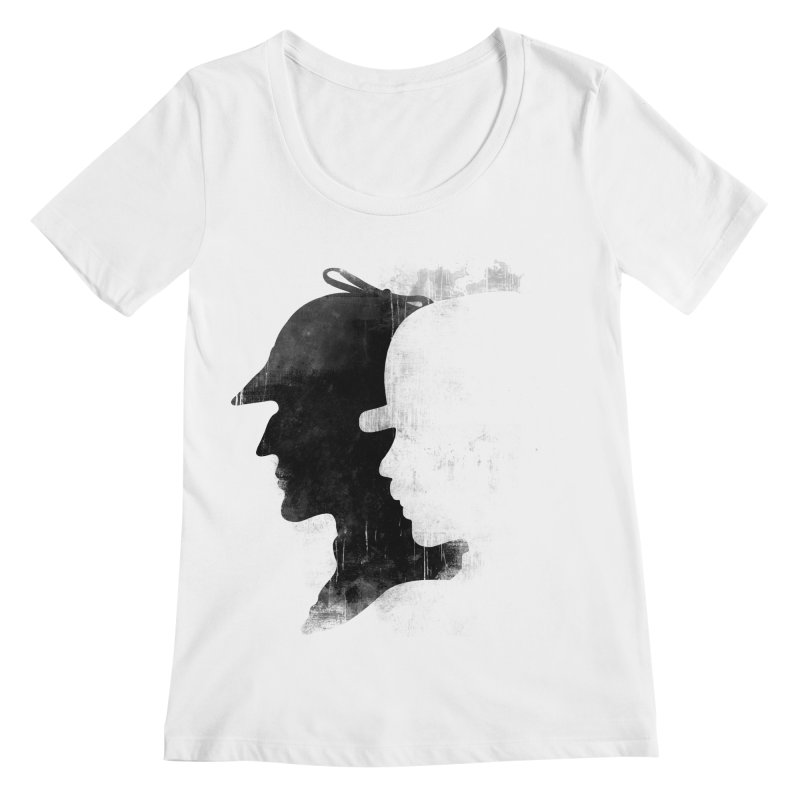 Sherlock's hommies Women's Scoopneck by Rejagalu's Artist Shop