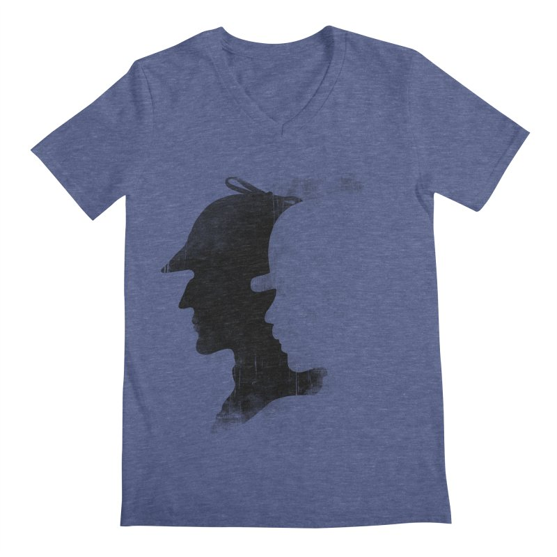Sherlock's hommies Men's V-Neck by Rejagalu's Artist Shop
