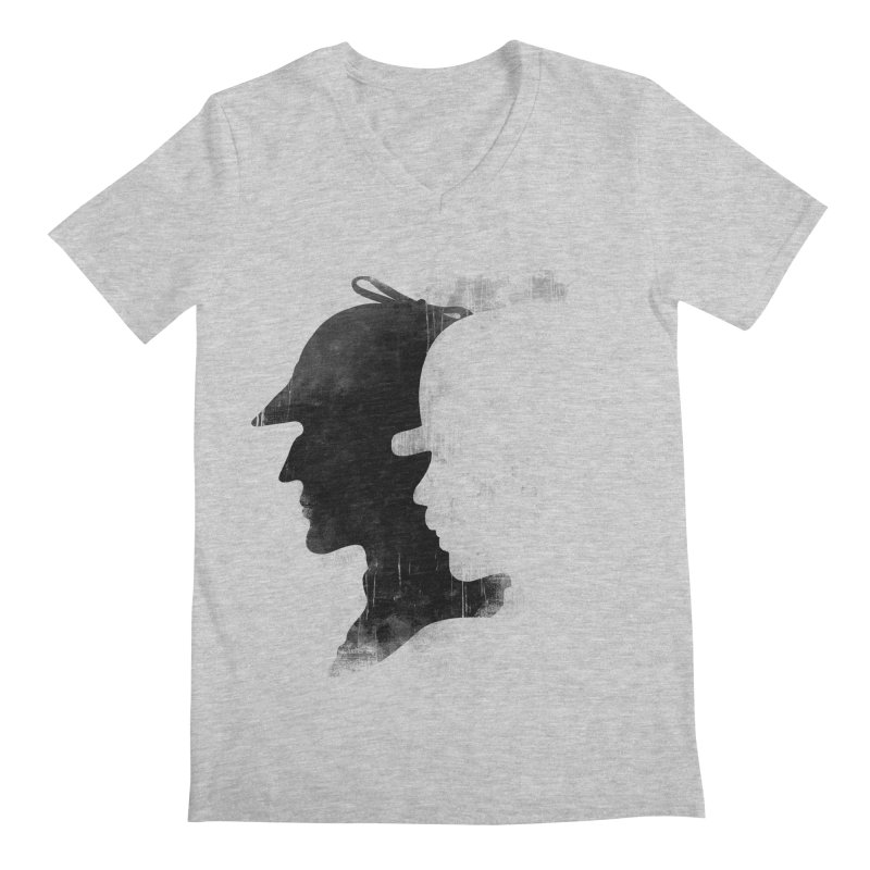 Sherlock's hommies Men's V-Neck by Rejagalu's Artist Shop