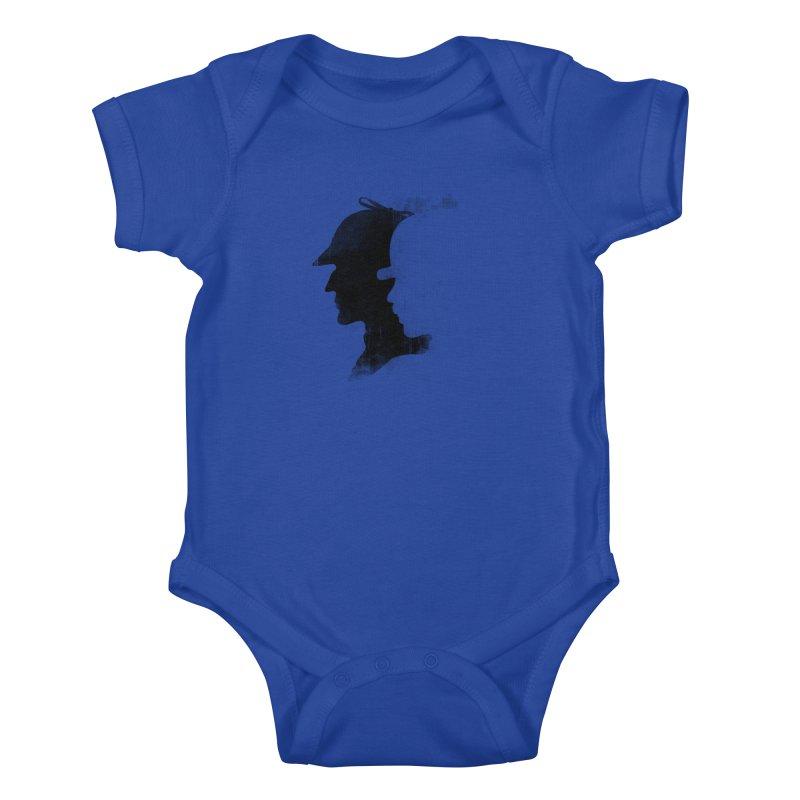 Sherlock's hommies Kids Baby Bodysuit by Rejagalu's Artist Shop