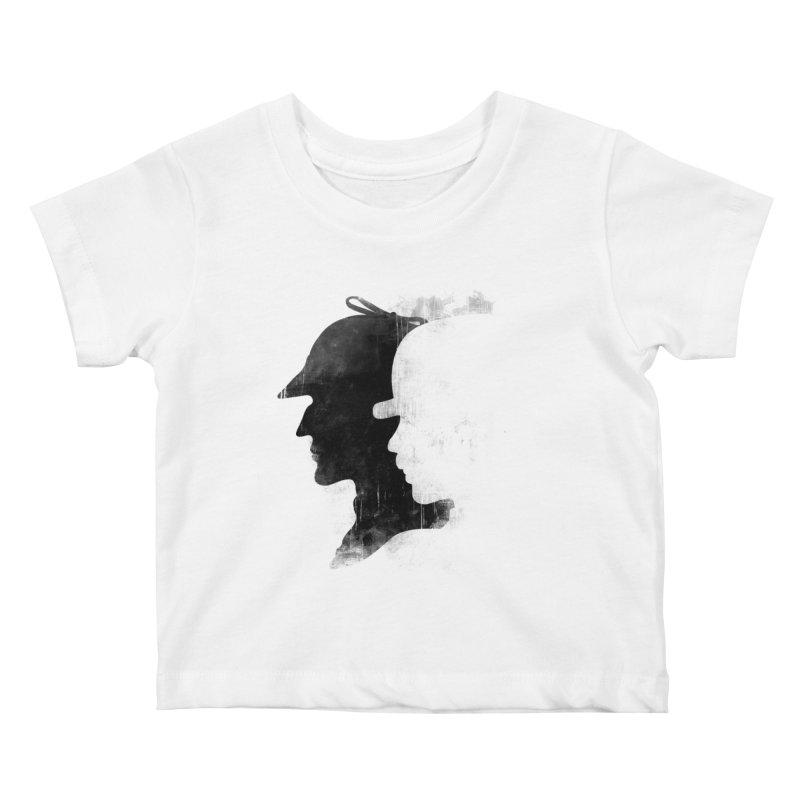 Sherlock's hommies Kids Baby T-Shirt by Rejagalu's Artist Shop