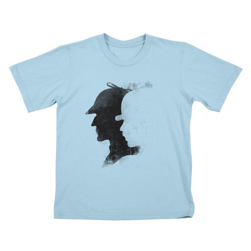 Sherlock's hommies Kids T-shirt by Rejagalu's Artist Shop