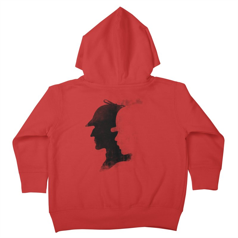 Sherlock's hommies Kids Toddler Zip-Up Hoody by Rejagalu's Artist Shop