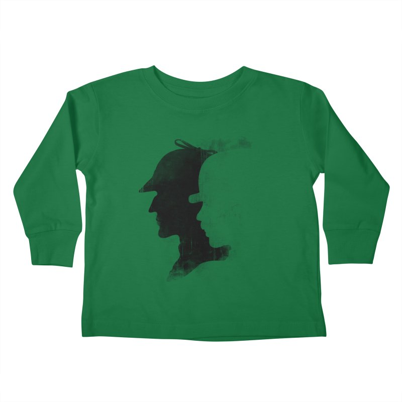 Sherlock's hommies Kids Toddler Longsleeve T-Shirt by Rejagalu's Artist Shop