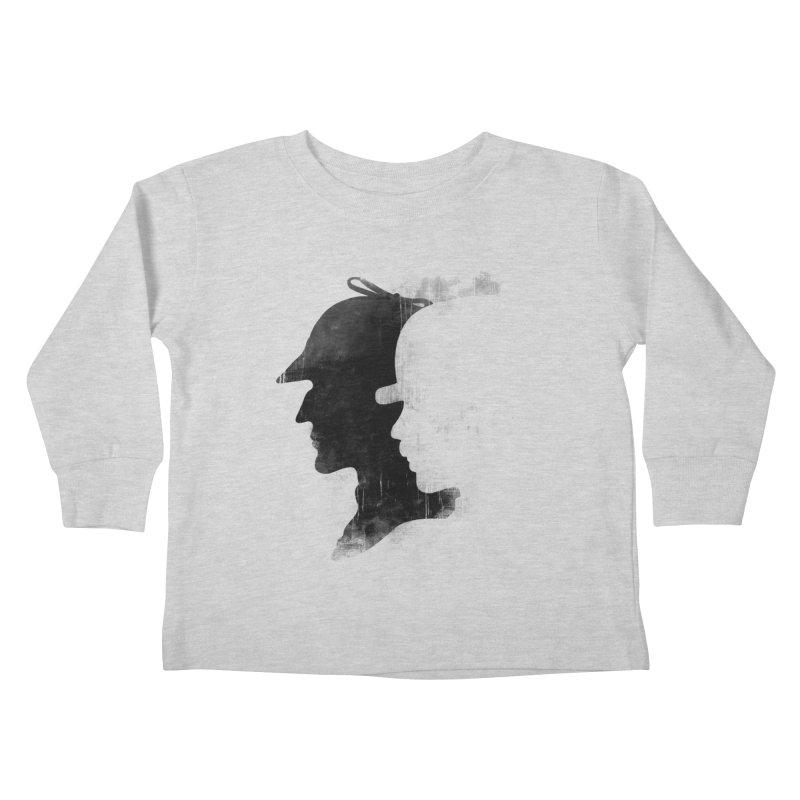 Sherlock's hommies Kids Toddler Longsleeve T-Shirt by Rejagalu's Artist Shop