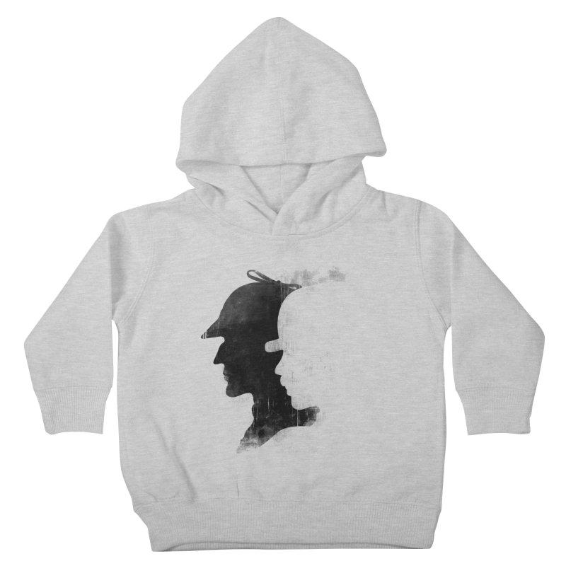 Sherlock's hommies Kids Toddler Pullover Hoody by Rejagalu's Artist Shop