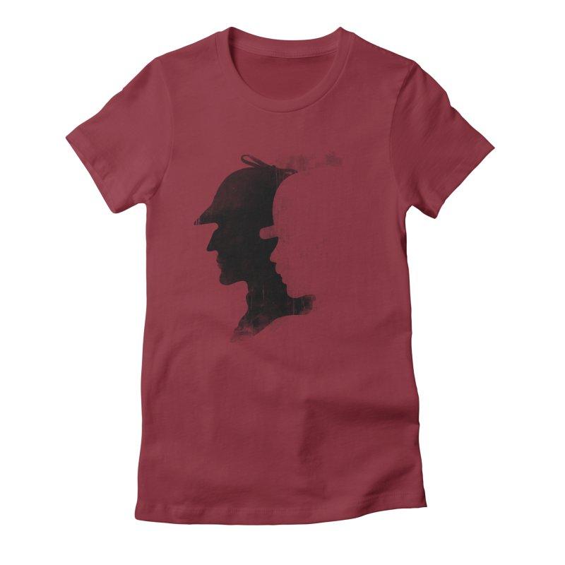 Sherlock's hommies Women's Fitted T-Shirt by Rejagalu's Artist Shop