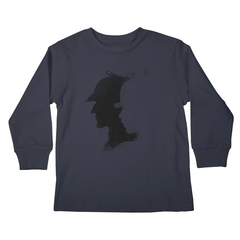 Sherlock's hommies Kids Longsleeve T-Shirt by Rejagalu's Artist Shop