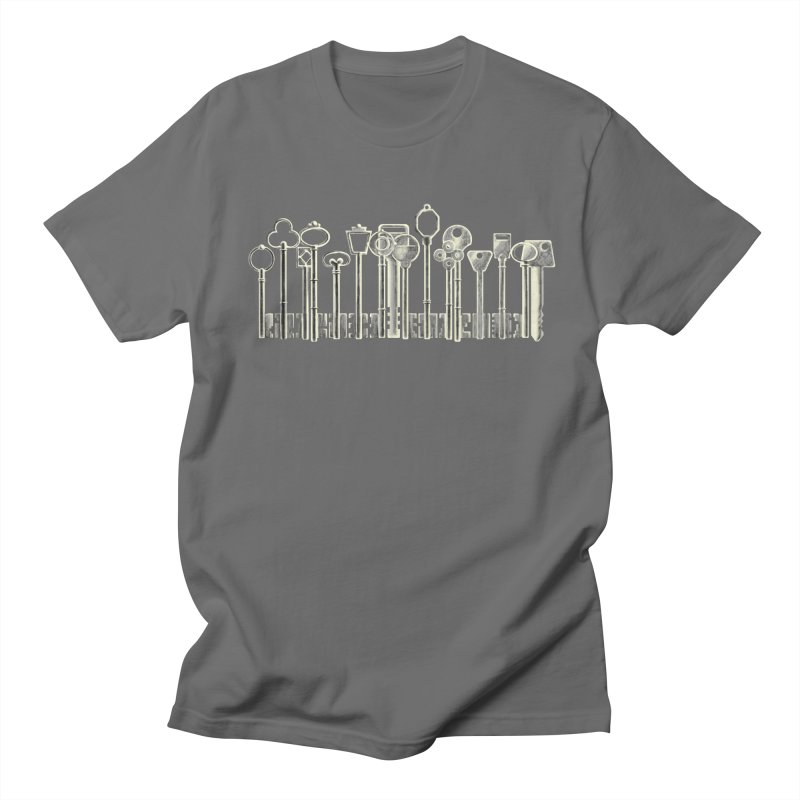 the board of keys Men's T-shirt by Rejagalu's Artist Shop