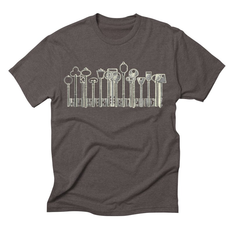 the board of keys Men's Triblend T-shirt by Rejagalu's Artist Shop