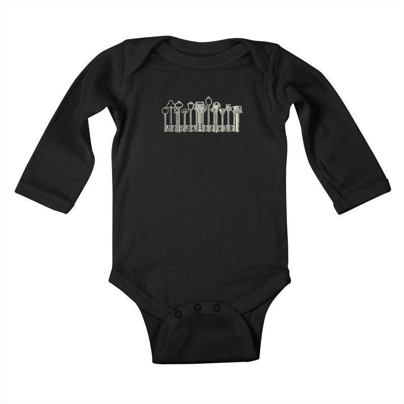 the board of keys Kids Baby Longsleeve Bodysuit by Rejagalu's Artist Shop