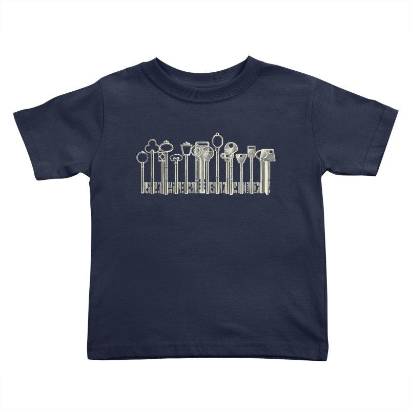 the board of keys Kids Toddler T-Shirt by Rejagalu's Artist Shop
