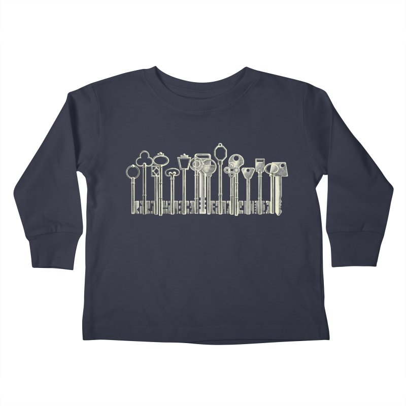 the board of keys Kids Toddler Longsleeve T-Shirt by Rejagalu's Artist Shop