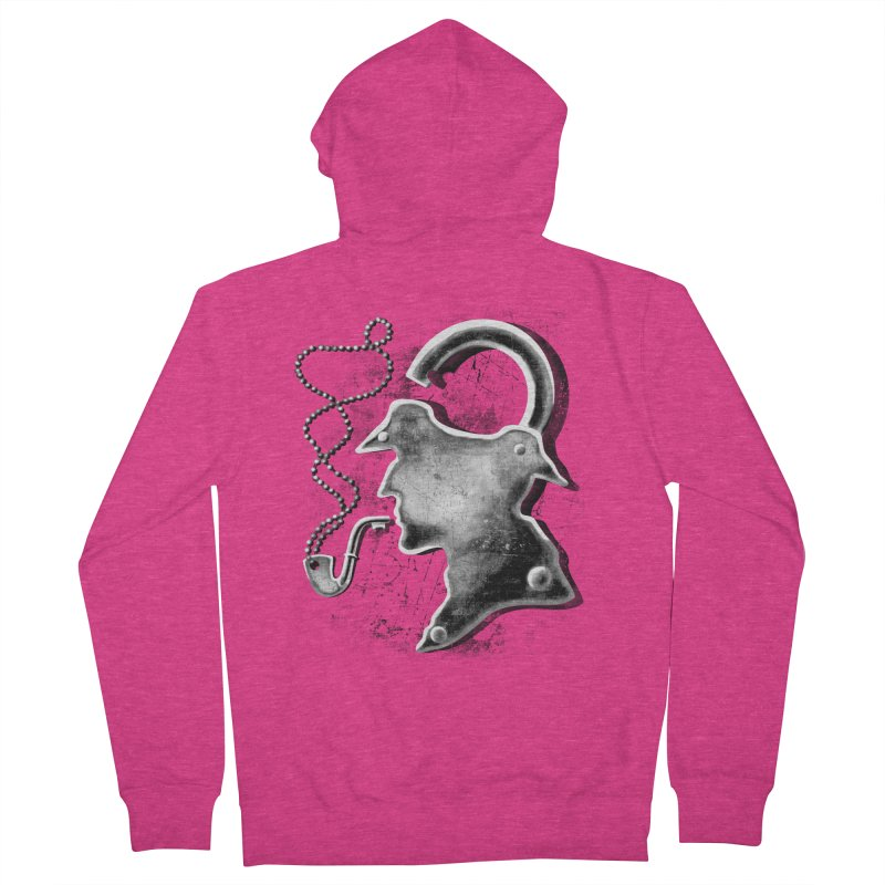 un-Sher-lock-ed Women's Zip-Up Hoody by Rejagalu's Artist Shop