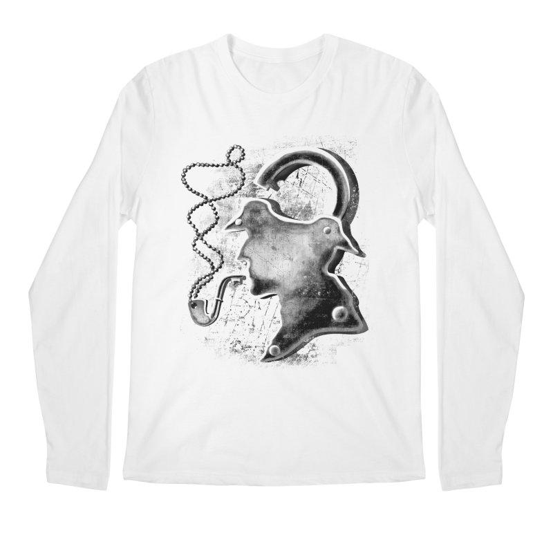 un-Sher-lock-ed Men's Longsleeve T-Shirt by Rejagalu's Artist Shop