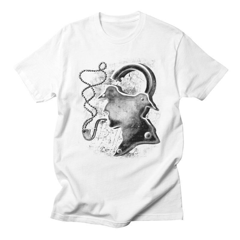 un-Sher-lock-ed Men's T-shirt by Rejagalu's Artist Shop