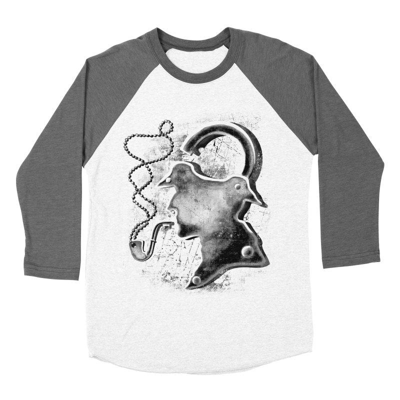un-Sher-lock-ed Men's Baseball Triblend T-Shirt by Rejagalu's Artist Shop