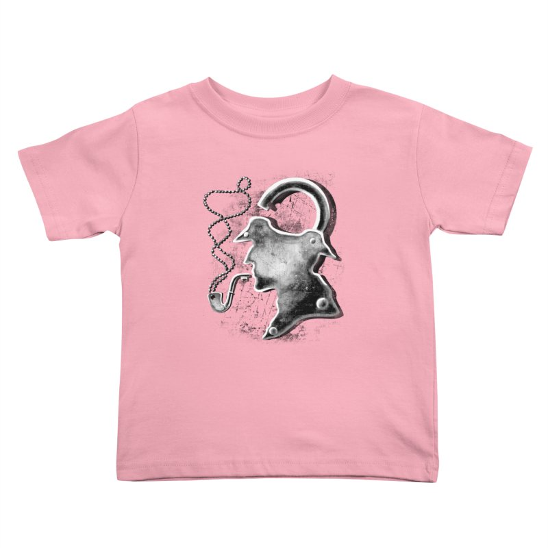 un-Sher-lock-ed Kids Toddler T-Shirt by Rejagalu's Artist Shop