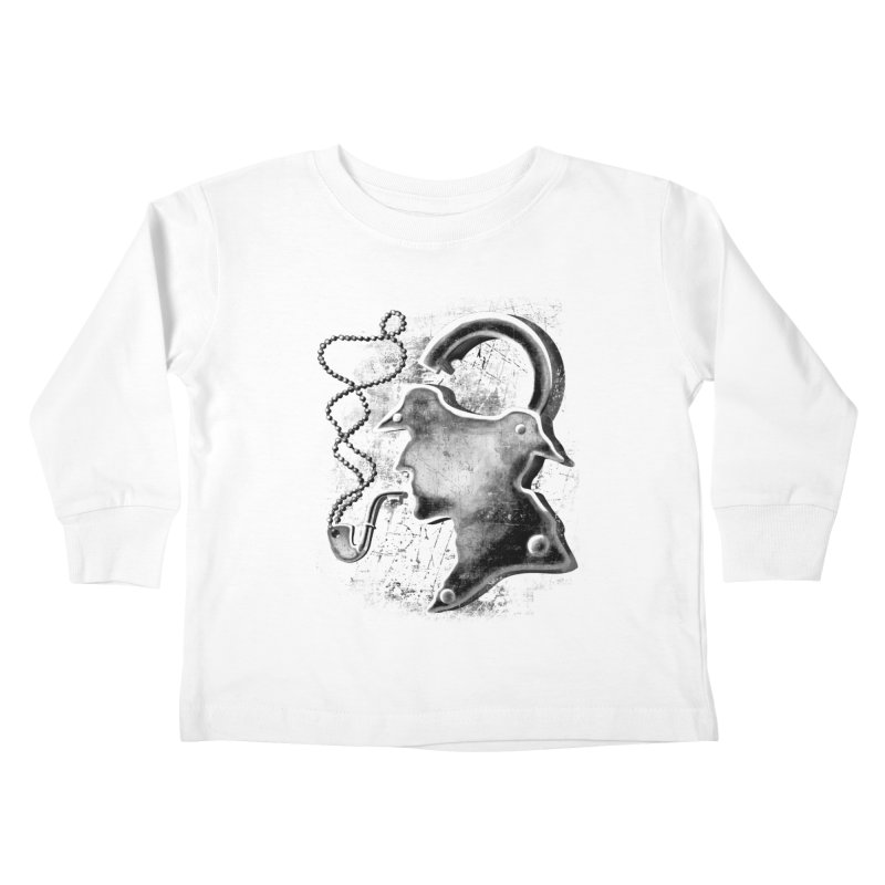 un-Sher-lock-ed Kids Toddler Longsleeve T-Shirt by Rejagalu's Artist Shop
