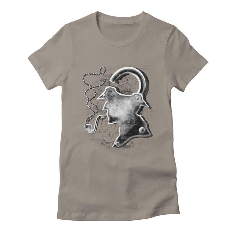 un-Sher-lock-ed Women's Fitted T-Shirt by Rejagalu's Artist Shop