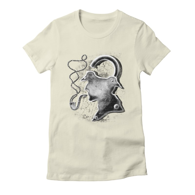 un-Sher-lock-ed Women's Fitted T-Shirt by Rejagalu's Artist Shop